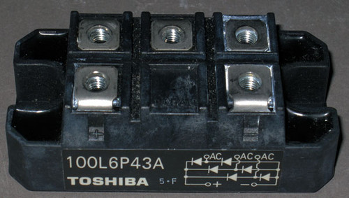 100L6P43A - Bridge Rectifier (Toshiba) - Used
