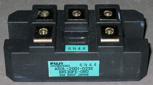 A50L-2001-0232 (Fanuc) - Also: 6RI30FE-080 (Fuji) - Bridge Rectifier - Used