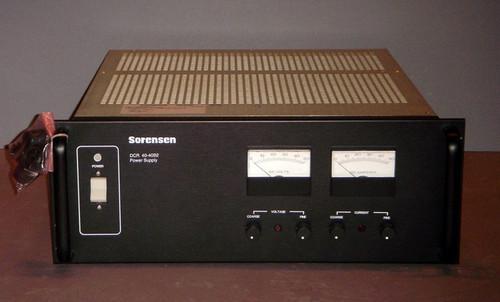 Sorensen DCR40-40B2 Programmable DC power supply, 40V 40A