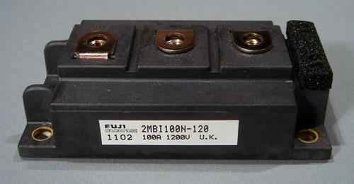 2MBI100N-120 - Fuji 1200V 100A dual IGBT Module