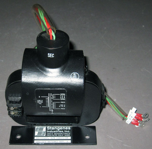 SI-11422 / 8674962 - High-Voltage Isolation Transformer (Stangenes Industries) - Used