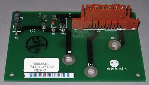 74101-371-52 Rev C / M903548 Circuit Board (Allen Bradley)