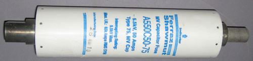 A550C50-75 - 5500V 50A Capacitor Fuse (Ferraz Shawmut)