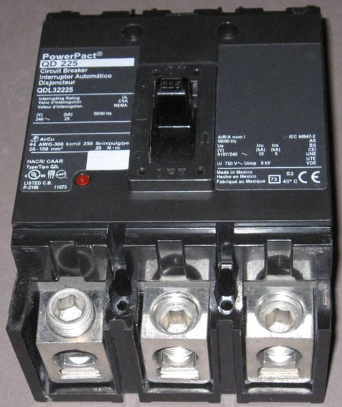 QDL32225 - 225A 240VAC Circuit Breaker (Square D) - Discounted