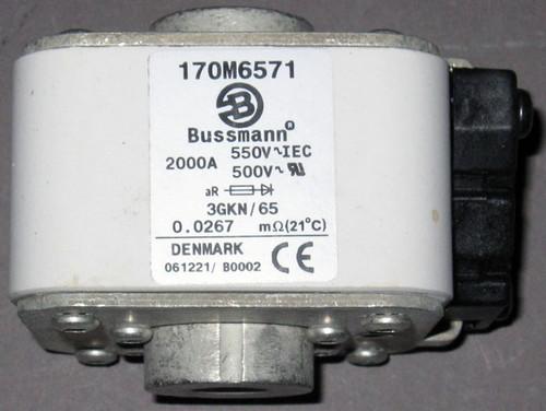 170M6571 - 2000A 550V Fuse (Bussmann)