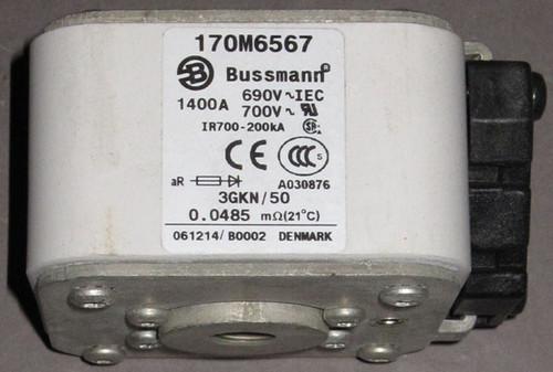 170M6567 - 1400A 690/700V Fuse (Bussmann)