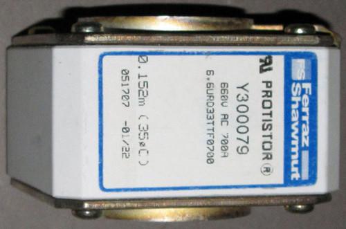 Y300079 / 6,6URD33TTF0700 - 700A 660VAC Fuse (Ferraz Shawmut)