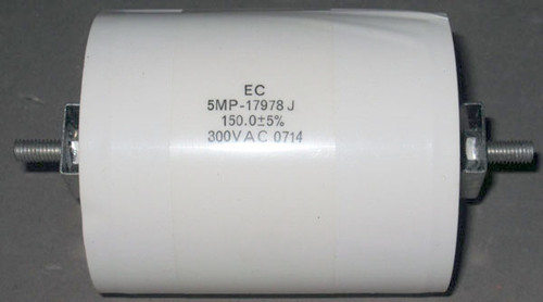 5MP-17978J - 300VAC 150uF Metallized Polypropylene Capacitor (Electronic Concepts)