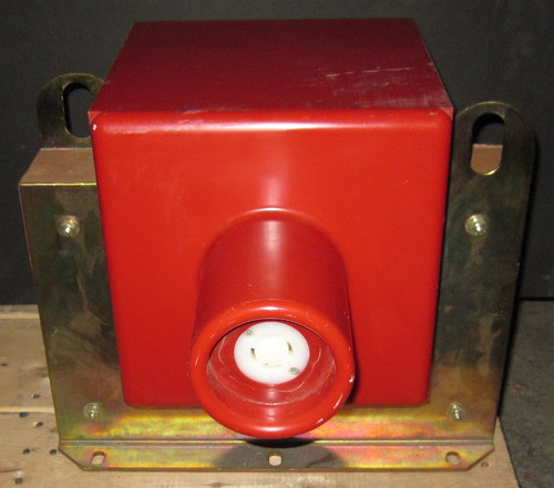 IT100-5E-C-AB-L - 100kV 5kVA High-Voltage Isolation Transformer 208V In - 115/220V Out (Hipotronics) - Used