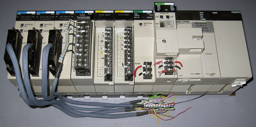 UC-PLC3 - Mecaserto PLC Assembly (Omron) - Used