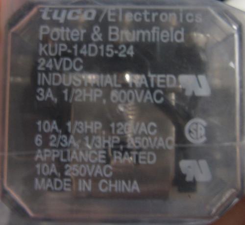 KUP-14D15-24 - Relay - 24VDC (Tyco Electronics)