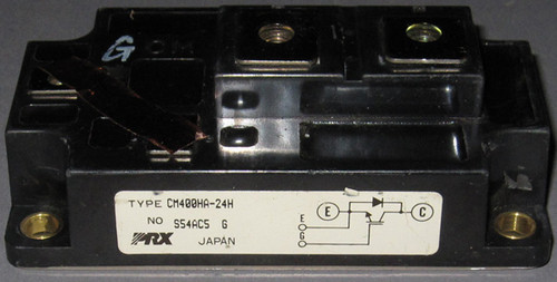 CM400HA-24H - 1200V 400A IGBT (Powerex) - Used