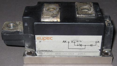 R55-00-059 - Diode / SCR module (Eupec) - Used
