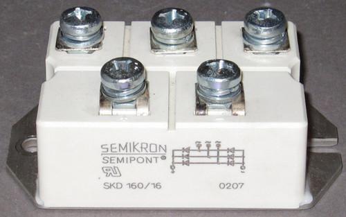 SKD160/16 - 1600V 160A Bridge Rectifier (Semikron) - Used