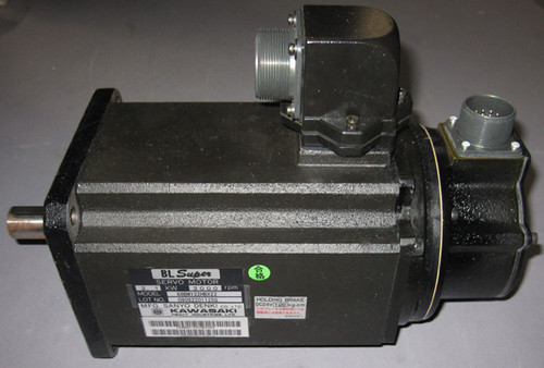68BM122HBX22 / 50601-1022 - 3.1kW Servo Motor (Kawasaki)