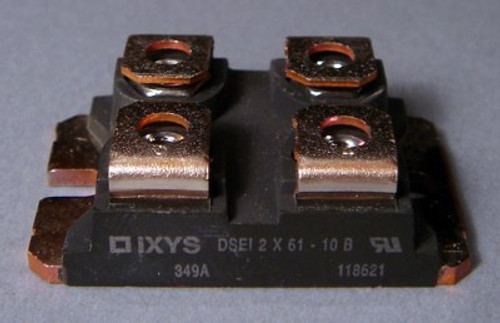 DSEI2x61-10B IXYS 1000V 60A x 2 Fast Recovery Epitaxial Diode Module