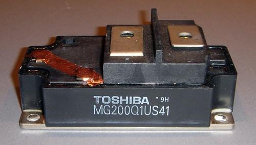 MG200Q1US41 - 1200V 200A IGBT module - Used