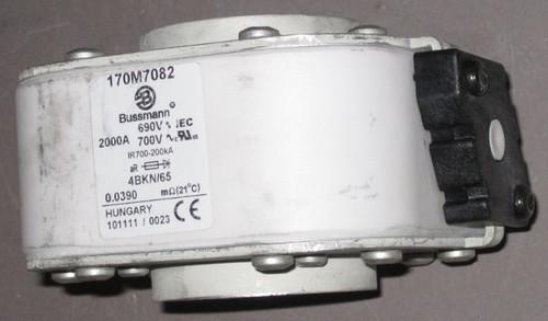 170M7082 -  2000A 690/700V Fuse (Bussmann) - Discounted