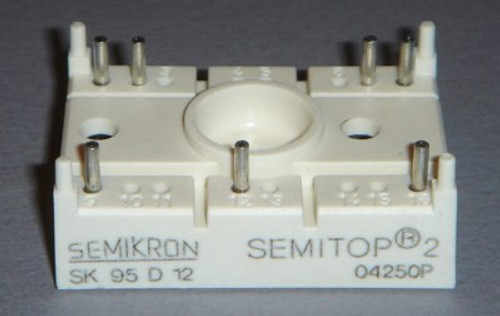 SK95D12 - 1200V 95A 3-phase bridge rectifier (Semikron)