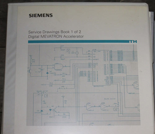 Set of Manuals, Service Records, and Updates (Siemens) - Used