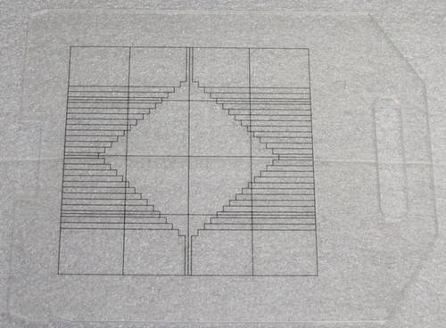 Square Reticle (Siemens) - Used