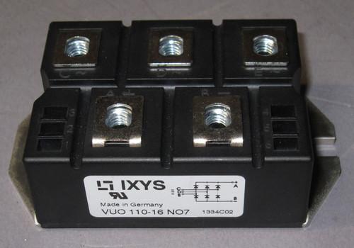 VUO110-16NO7 - 1600V 127A 3-Phase Bridge Rectifier (IXYS)