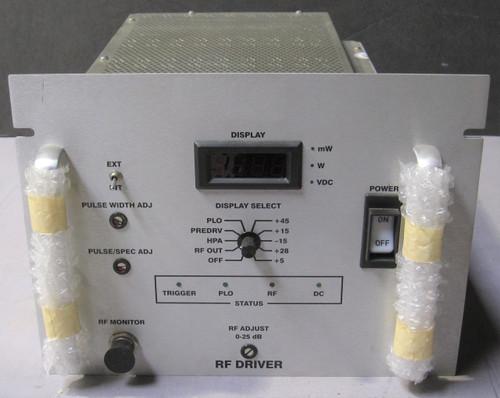 1964878 (MPD 34874/DB061470-2 Rev E) - RF Driver (Siemens) - Used