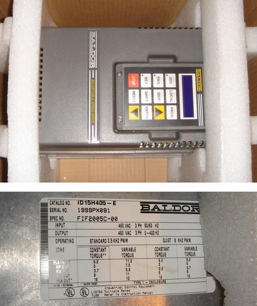 ID15H405-E Baldor Adjustable Speed Drive - 5HP (unit 2)