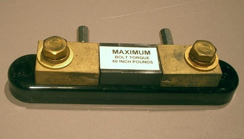 Shunt - 100mV 10A - 06716 (Simpson) - Discounted