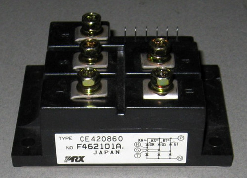 CE420860 - SCR/Diode bridge (Powerex) - Used