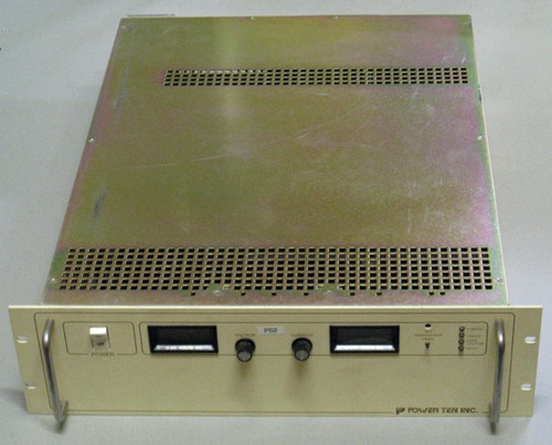 P63C-20330A - programmable DC power supply (Power Ten), 20V 330A - Used