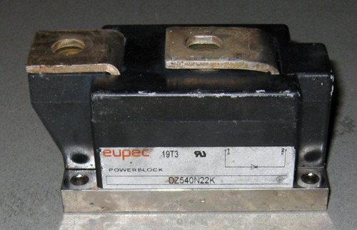 DZ540N22K - Diode, 2200V 540A (average) 1150ARMS (Eupec) - Used