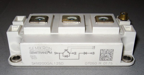 SKM200GAL125D - Fast IGBT / diode, 1200V 200A  (Semikron)