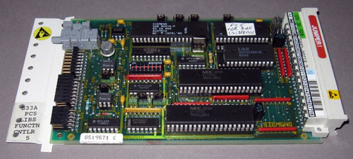 S33A-PC5 - LIBS FUNCTN CNTLR 5 - Function Controller - 8519571-C - (Siemens) - Used