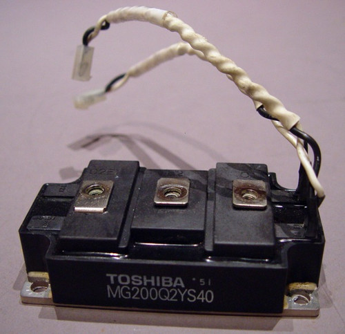 MG200Q2YS40 - 1200V 200A Half-Bridge / Dual IGBT Module (Toshiba) - Used