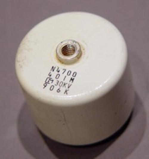 High-Voltage Ceramic Capacitors, 30kV 400pF - Used