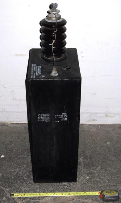 37065 - Pulse Capacitor - 45kVDC 0.026uF (Maxwell) - Used