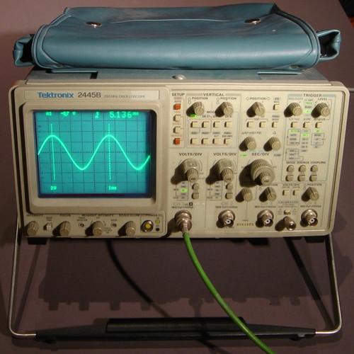 Tektronix 2445B 200Mhz Oscilloscope - Used