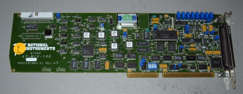 AT-MIO-16D - Circuit board (National Instruments) Y - Used