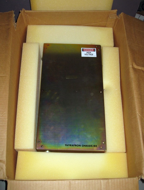 7337285-A - Thyratron Chassis K4 - Missing PCB (Siemens) - Used