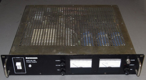 DCR40-13B-M61 - 40VDC 13A Programmable Power Supply (Sorensen) - Used