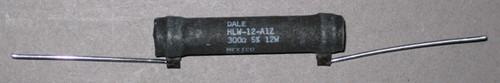 Power Resistor, 300 Ohm, 12 Watt, +/- 5% - HLW-12-A1Z (Dale)