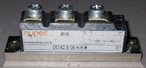 DD82S08K-K# - Fast Diode (Eupec) - Used
