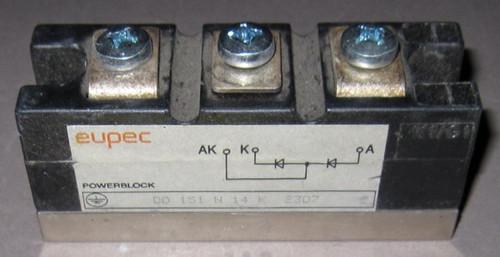 DD151N14K- Diode (Eupec) - Used