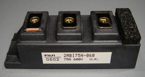 2MBI75N-060 - Fuji 600V 75A dual IGBT Module