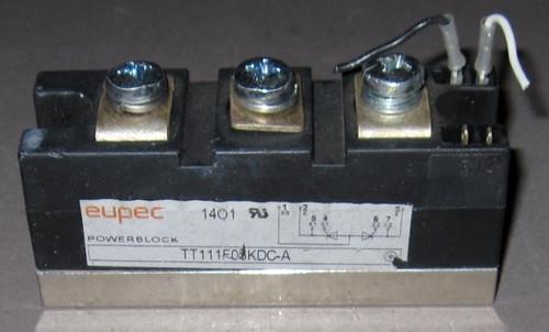 TT111F06KDC-A - Fast SCR (Eupec) - Used