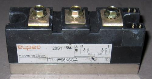 TT111F06KSC-A - Fast SCR (Eupec) - Used