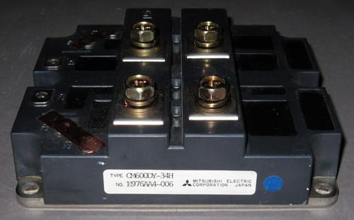 CM600DY-34H - IGBT 2-pack / half-bridge 1700V 600A (Mitsubishi) - Used