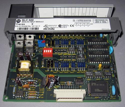 1746-NI4 Ser A - SLC500 Analog Input Module (Allen-Bradley)