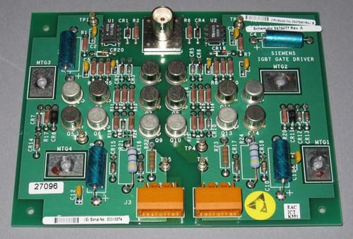 05479451 Rev B - IGBT Gate Driver MTG2 Circuit board (Siemens) - Used